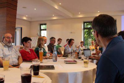 Susanne auf der Kreismitgliederversammlung in Leingarten