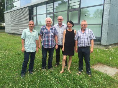 Informationsgespräch beim SLK-Betriebsrat.