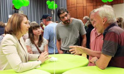 Beim Bürgerdialog hatten interessierte Bürgerinnen und Bürger die Gelegenheit die grünen Landespolitiker*innen mit ihren Fragen zu löchern