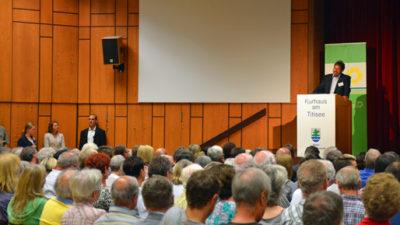 Gut besucht: der Bürgerdialog in Titisee-Neustadt