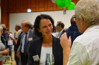 Susanne beim Bürgerdialog der Grünen Landtagsfraktion in Titisee-Neustadt
